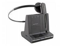 Plantronics Savi W740/A schnurloses Headset für Festnetz, PC und Mobiltelefon