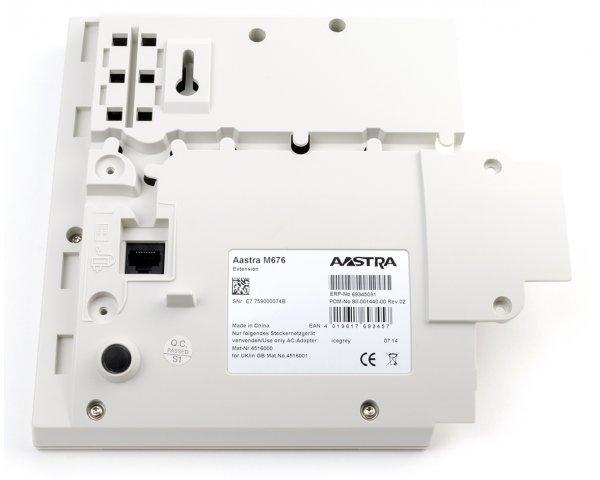 Aastra / Mitel M676 KeyExtension - eisgrau