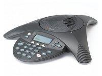 Polycom SoundStation 2 non ex, mit Display Konferenztelefon mit Rufnummernanzeige