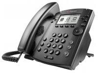 Poly | Polycom VVX 301 6-line Desktop Phone mit HD Voice, PoE.