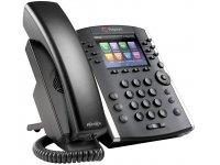 Poly | Polycom VVX 411 12-line Desktop Phone Gigabit Ethernet, w HD Voice, PoE
